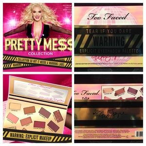 Too Faced Makeup - 💖Too Faced Pretty Mess Eyeshadow Palette - NEW!!